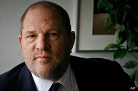 FILE - Film producer Harvey Weinstein is pictured in New York, Nov. 23, 2011.