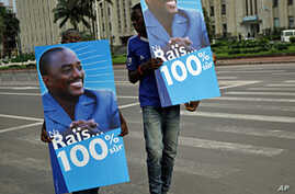 Presidential Supporters Take to Streets in Eastern Congo