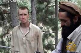 Bowe Bergdahl, shown in video while a captive of Taliban in 2010 (file photo)