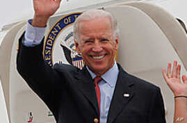 US Vice President Arrives in Chengdu, China