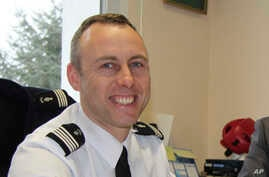 Arnaud Beltrame poses for a photo in Avranches, western France, in this photo dated March 2013. The officer who trade himself for a female hostage was identified as Col. Arnaud Beltrame.