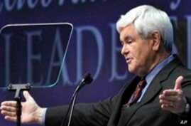 Gingrich Joins Slow-Developing Republican Presidential Field