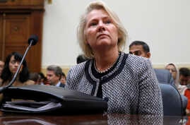 Acting Assistant Secretary of State for East Asian and Pacific Affairs Susan Thornton attends a House Foreign Affairs Committee hearing on North Korea sanctions, Sept. 12, 2017,  in Washington.