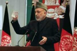Karzai Tells NATO Fight is Not in Afghanistan