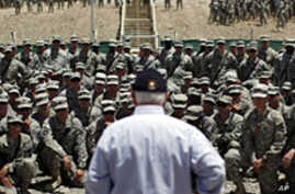 Gates Faces Soldiers' Questions on Bin Laden's Death