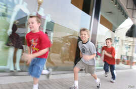 "A new study says children run more slowly than their parents and have worse cardiovascular health (Via <ahref=""http://www.flickr.com/photos/chicagonorthshore/"">Flickr</a>)"