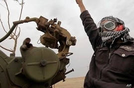 Libyan Rebels Get Military Advice From EU, Aid From US