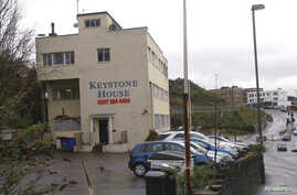 Photo of Keystone House, an office block believed to be the living place of Gu Kailai, wife of China's former Chongqing Municipality Communist Party Secretary Bo Xilai, is seen in Bournemouth, England, April 18, 2012. French architect Patrick Henri D