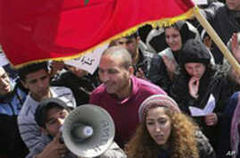 Anti-Government Protests Spread in North Africa