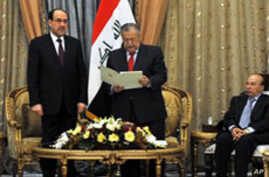 Outgoing Iraqi PM Asked to Form New Government