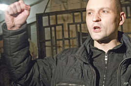 Russian Dissident Udaltsov Released