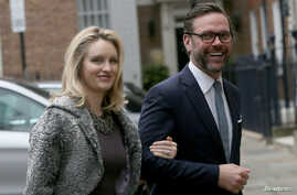 FILE - James Murdoch, the son of media mogul Rupert Murdoch, is pictured in London, March 5, 2016.
