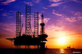 FILE - A China National Offshore Oil Corporation's (CNOOC) oil rig.