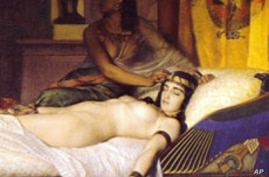 The Death of Cleopatra, a painting by Jean André Rixens, 1