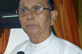 Burma's Parliament Elects Former PM as President