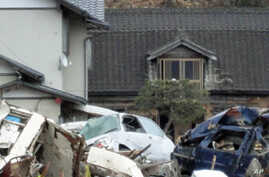 First of Japan Disaster Survivors Get Temporary Houses