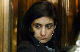 Seema Verma, nominee for administrator of the Centers for Medicare and Medicaid Services, gets on an elevator in the lobby of Trump Tower in New York, Jan. 10, 2017. Verma was confirmed by the Senate on March 13.