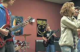 Teens Love Staying After Class at the School of Rock