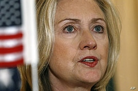 Clinton Urges Pakistan to Crack Down on Haqqani Militants