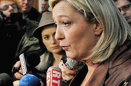 France's Far-Right Candidate Leads Presidency Poll