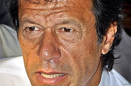 Pakistani Cricket Star Finds New Political Credibility