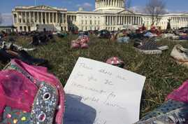 7,000 Pairs of Shoes Stand for Children Killed by Guns
