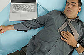 Sleeping Less Than 6 Hours Might Boost Heart Attack Risk
