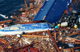 Massive Debris Patch From Japanese Tsunami Floating to America