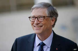 FILE -Bill Gates, Co-Chair of the Bill & Melinda Gates Foundation, April 16, 2018.