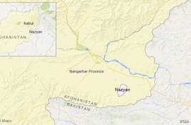 Nazyan district, in Nangarhar province, Afghanistan