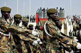 North Sudan Army Demobilizes Southern Members