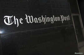 A general view of the exterior of The Washington Post Company headquarters in Washington can be seen in this March 30, 2012, file photo.