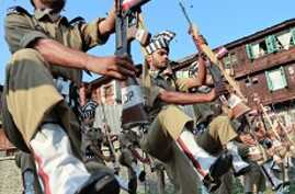 Tight Security in Kashmir on 'Martyr's Day'