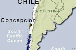 Strong Aftershock Jolts Chile
