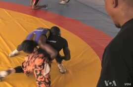 Female Senegalese Wrestler Beats Opponents, Critics