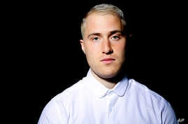 Singer-songwriter Mike Posner poses for a portrait in Los Angeles, March 4, 2016.
