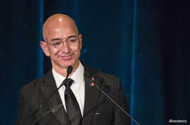 FILE - Blue Origin, owned by Amazon.com founder Jeff Bezos, has finished work on the engine for its suborbital spaceship, the New Shepard.