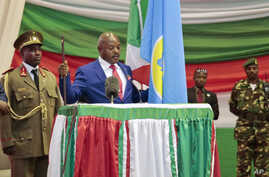 Burundi President Sworn In
