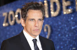 "FILE - Ben Stiller poses for photographers upon arrival at the premiere of the film ""Zoolander No.2,"" in London, Feb. 4, 2016."