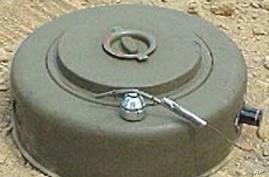 Ghadafi Forces Reported Using Landmines