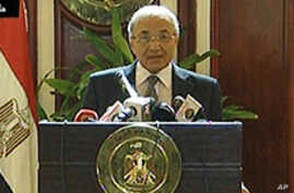 Egyptian PM Apologizes for Violent Clashes