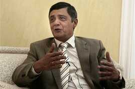 Russian presidential envoy to Afghanistan Zamir Kabulov gestures during an interview with the Associated Press, in Kabul, Afghanistan (File Photo)
