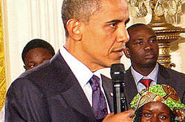 Obama Hosts Young African Leaders Forum at White House