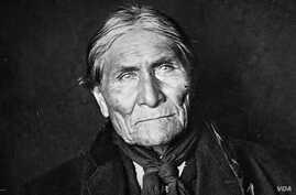Photo of Geronimo taken in 1908, a year before his death.