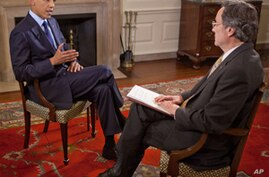 Obama Tells VOA US Will Not Abandon Afghanistan Despite Troop Cuts