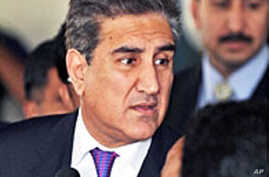 Pakistan's Foreign Minister Shah Mehmood Qureshi (file photo)