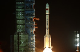 China Launches Spacecraft, Eyes Space Station
