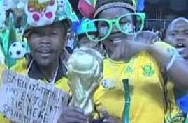 Fans at the 2010 World Cup in South Africa