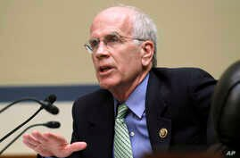 "FILE - Rep. Peter Welch, D-Vt., pictured on Capitol Hill in March 2015, says the malware discovery by a Vermont electric utility further proved that Russian computer hacking has been ""systematic, relentless and predatory."""