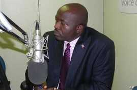Liberia Finance Minister Augustine Ngafuan